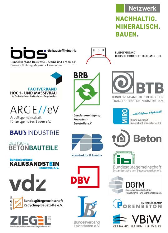 Netzwerk nachhaltig bauen